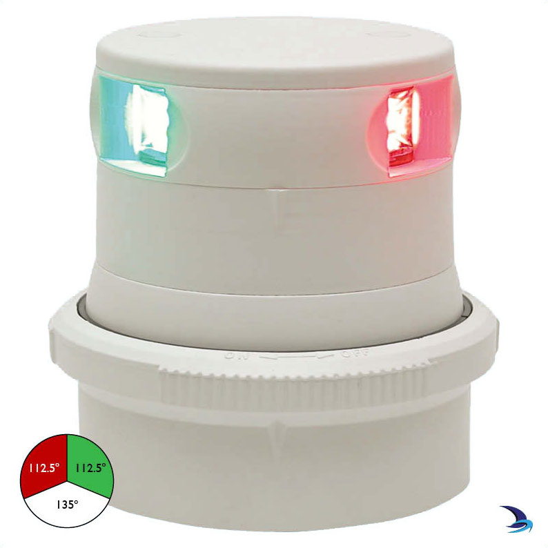 Aqua Signal - Series 34 LED Tri-Colour Masthead Navigation Light